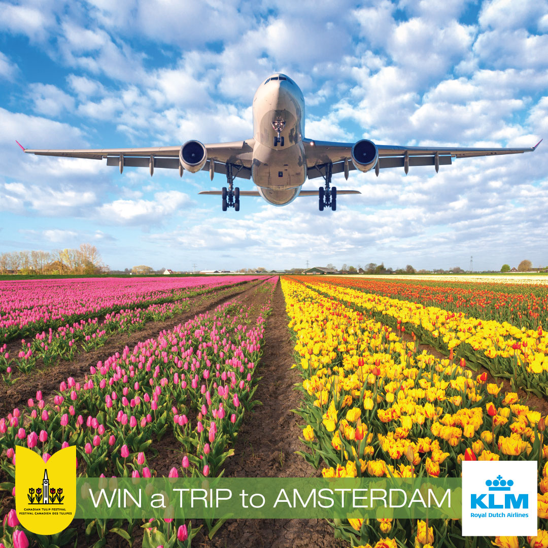 RAFFLE: WIN a TRIP to AMSTERDAM with KLM Royal Dutch Airlines